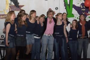 Optreden studentenfeest Quintus