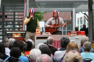 Zingen bij de afwas in Almere