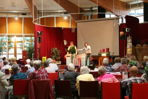 Zingen bij de afwas in Gorinchem