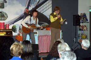 Zingen bij de afwas in Vriezenveen